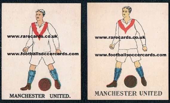 1923-24 Battocks Manchester United pair